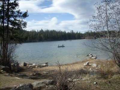 Roche Lake's Ice Off!