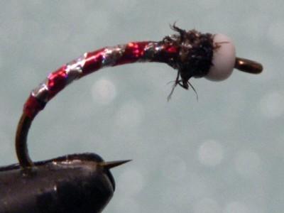 KKK Chironomid Pupa Fly Pattern - DEADLY!