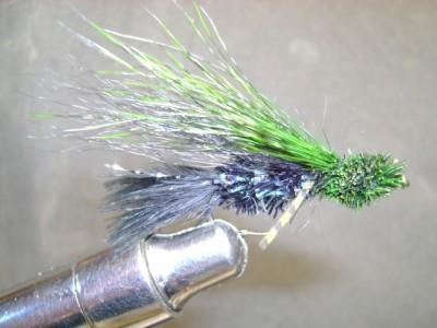 Disco Cactus Muddler Fly Pattern .. stayin alive ... stayin alive ...
