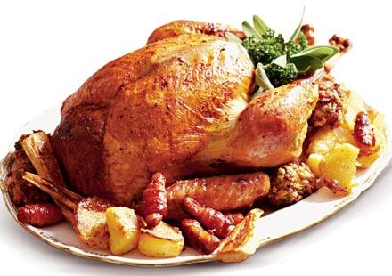 Brined & Roasted Turkey Recipe - yummy!
