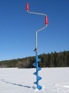 Ice Fishing 101 - How to Ice Fish - Auger
