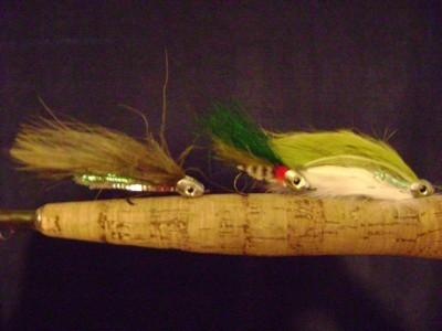 Baby Rainbow Fish Skull Streamers Fly Pattern