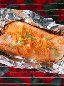 ....... yummy non fishy bbq trout recipe!