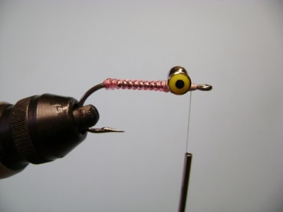 Crazy Charlie Pink Bonefish Fly Pattern