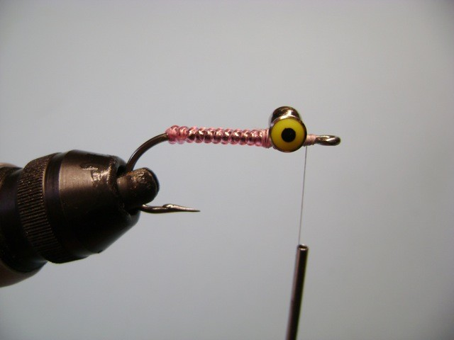 The Bc Crazy Charlie Pink Bonefish Fly Fishing Pattern