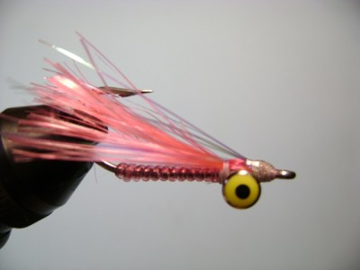 Crazy Charlie Pink Bonefish Fly Pattern ... the Grandfather of all bonefish flies!