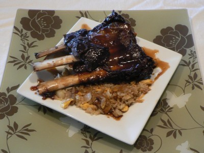 Oven Baked Sweet &Sour Moose Ribs ... holy delicious sweet & sour moose ribs batman!