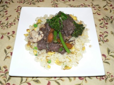 Venison & Broccolini Stir Fry ... a delicious, nutritious & organic vension wild game meat recipe!