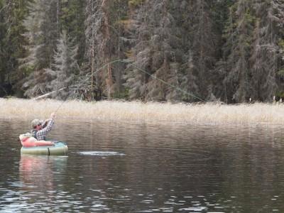 Fly Fishing Beyond Seasonal Peaks ... fish on!