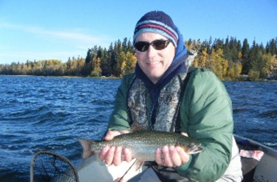 ... nice brook trout!