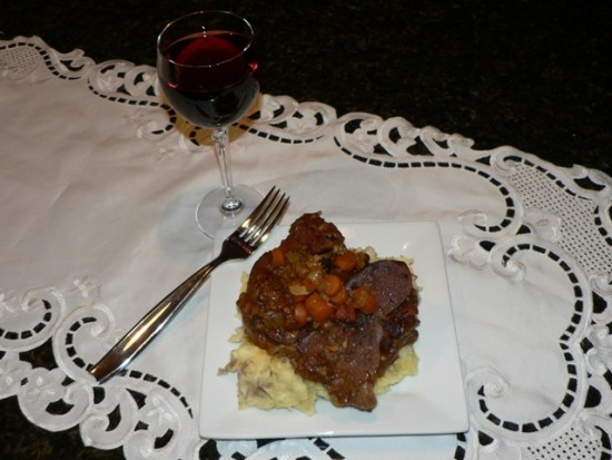 ....... Osso Buco Roasted Venison Shank Recipe O So Delicioso!