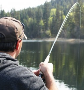 ... fish on the Dragonfly Kamloops fly rod combo!
