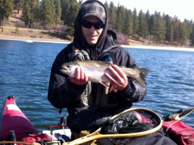 ...  a beaut Sawmill lake rainbow!