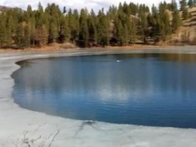 ... Sawmill lake fishable!