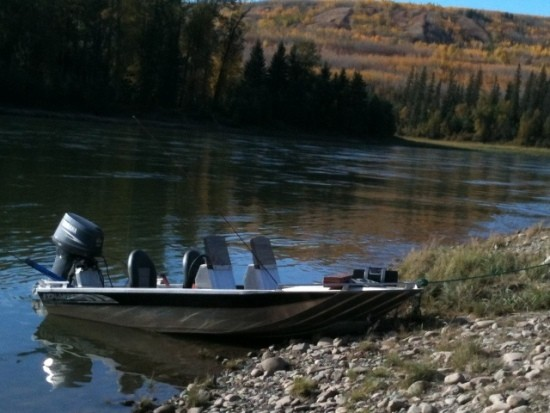 ... ahhh, the peace river in the fall!