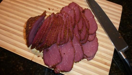 Venison Pastrami Recipe ... deli thin sliced venison pastrami!