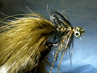 Galloup Style Streamer Fly Pattern - almost done!