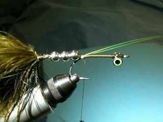 Galloup Style Streamer Fly Pattern - joined
