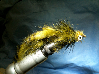 Galloup Style Streamer Fly Pattern - a rabbit tail version!