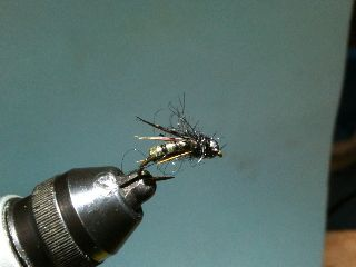 Combo Nymph River Fly Pattern - Chartreaus