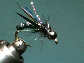 Combo Nymph River Fly Pattern