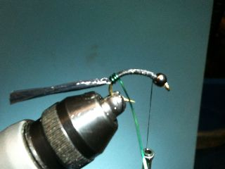 Combo Nymph River Fly Pattern ... wrap wire forward!