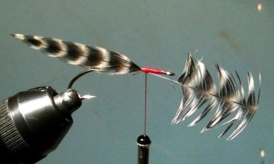 Quick Fish Fry Fly   BC Salmon Fry Fishing Pattern ... Fish Fry smolt Streamer fly