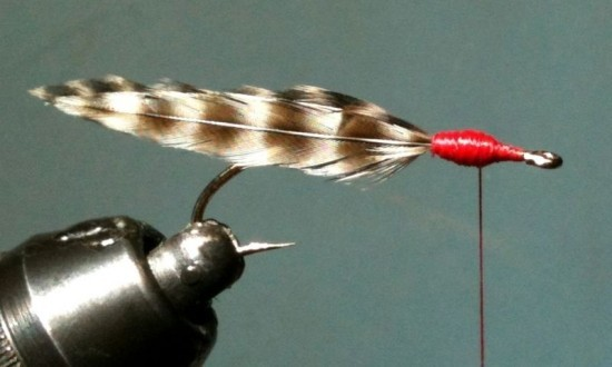 Quick Fish Fry Fly | BC Salmon Fry Fishing Pattern ... Fish Fry Streamer step 3