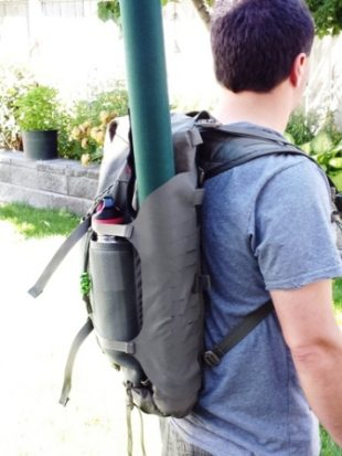 Hill People Gear Connor Pack Review - Loaded 4 Day Trip Donned