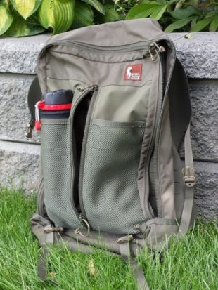 Hill People Gear Connor Pack Review - Secondary Compartment & Twin Slots