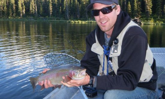 Palace in the Sky - BC Alpine Fly Fishing Report 2016 - Rainbow Trout