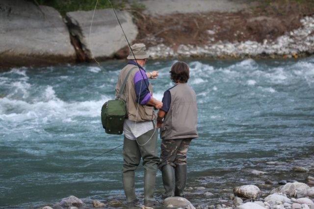 Tips to Help Teach Kids how to Fly Fish