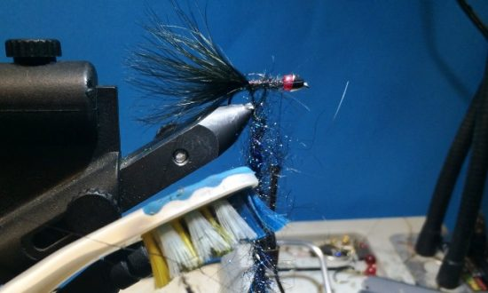 Superintendent Sam Steele Blue Leech Fly Pattern