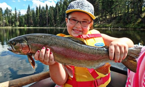 Kamloops Family Fishing Lakes - Take kids Fishing