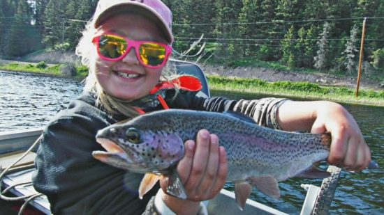Kamloops Family Fishing Lakes - Shyanne Fraser Valley