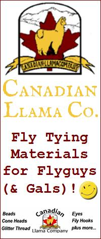 Canadian Llama Fly Tying Materials