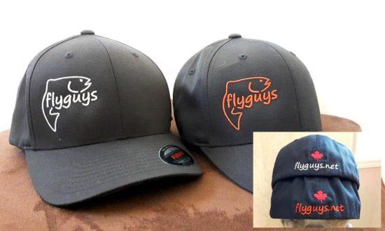 flyguys Fishing Hats - Flexfit Front & Back