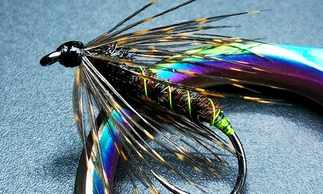 Green Haze Soft Hackle Caddis Fly