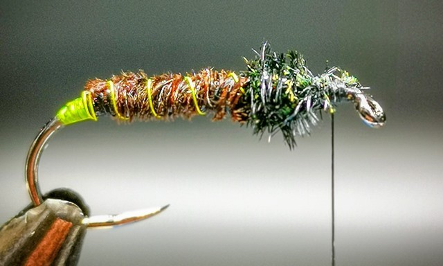 Green Haze Soft Hackle Caddis step 3