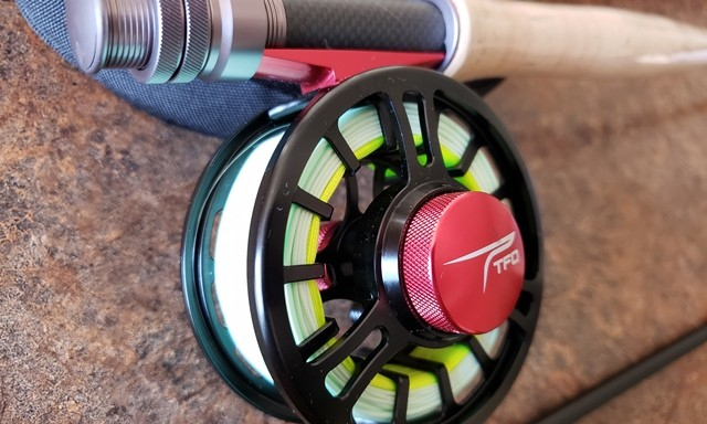 TFO Pro 2 Fly Rod Combo Pack Reel