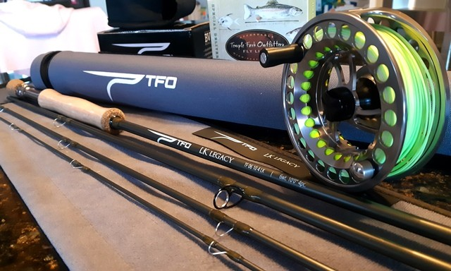 TFO LK Legacy Fly Rod BVK SD3 Fly Reel Special Delivery Floating Fly Line