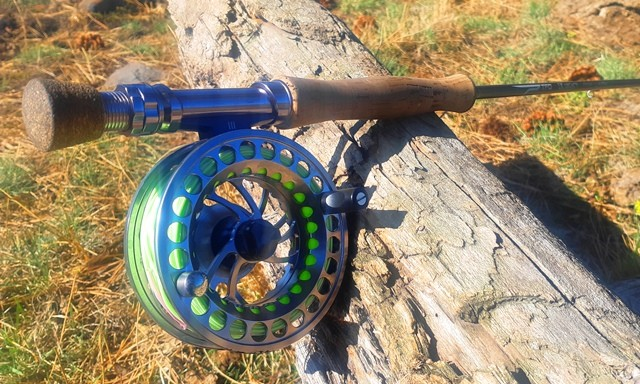 TFO LK Legacy Fly Rod with Fighting Butt SD3 Reel & Floating Line